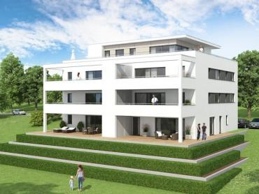 Neubau Mehrfamilienhaus am Messelberg
