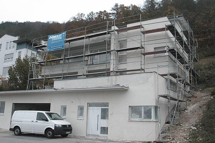 Wohnhaus am Tegelberg in Geislingen