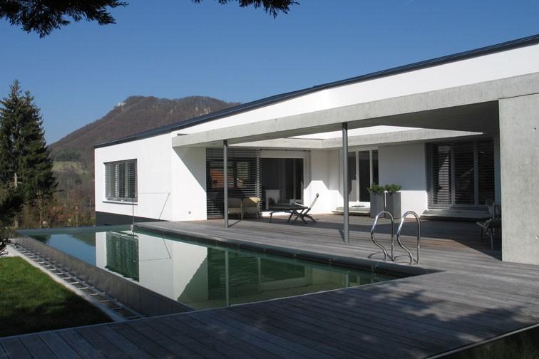 Transformation eines Wohnhauses